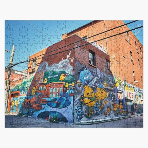 Graffiti corner Jigsaw Puzzle Jigsaw Puzzle