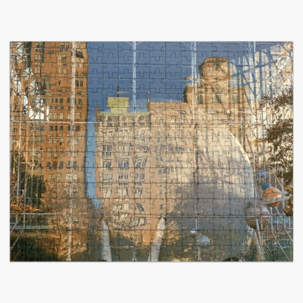 Reflections of New York Jigsaw Puzzle Jigsaw Puzzle