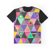 Quirky Triangles Graphic T-Shirt