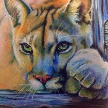 LEOs LIONESS (040) pastel painting by Julieford