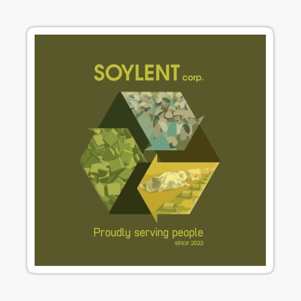 Soylent corp. Sticker