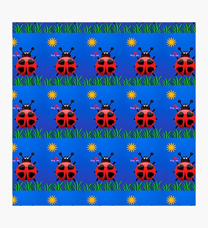 Lady Bugs Photographic Print