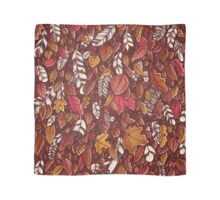 Leaves color red Scarf