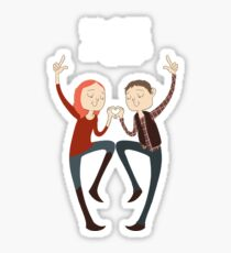 U+ME=OTP AMYxRORY Sticker
