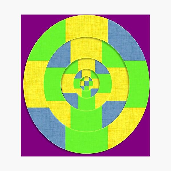 Geometric Abstract Art Photographic Print