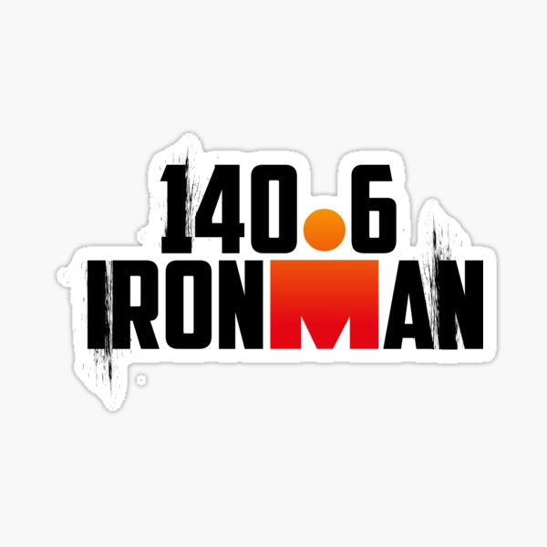 Triathlon Ironman 140,6 Sticker