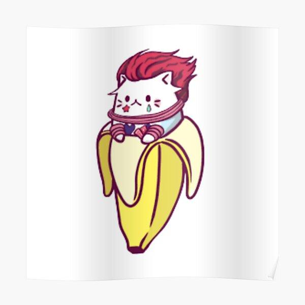 Cute Banana Poster