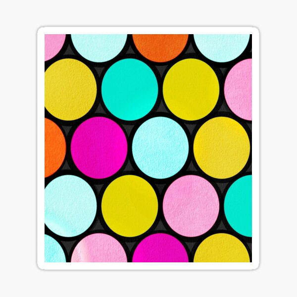 Polka Dots Pattern Sticker