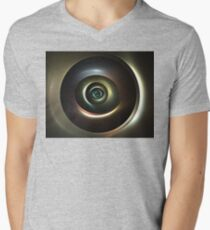 Ocular Lens Mens V-Neck T-Shirt