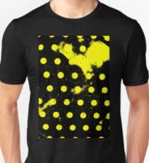 abstract polka dots yellow T-Shirt