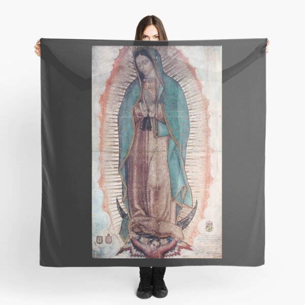 Our lady of Guadalupe, Virgin Mary, catholic and Christian Gifts, Guadalupana, mother of jesus Scarf