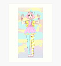 Gore girl! Art Print