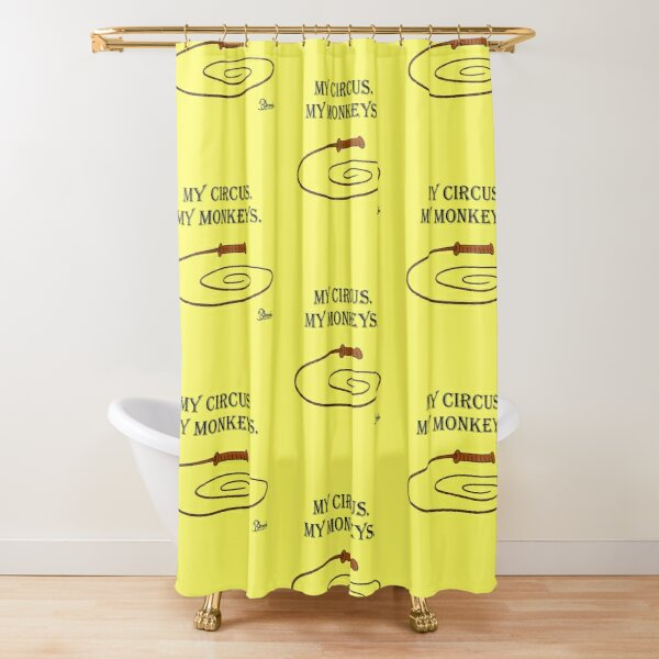 My Circus. My Monkeys. Shower Curtain