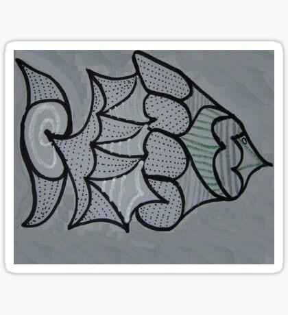 Mystery Fish Sticker