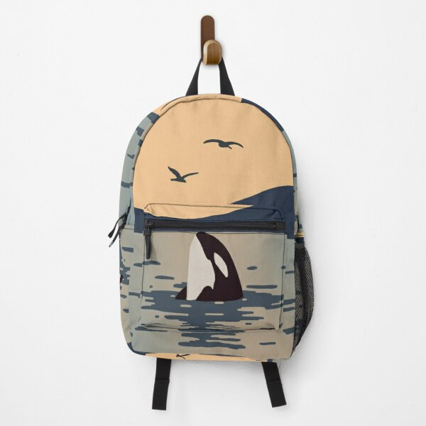 Killer whale Orca Backpack