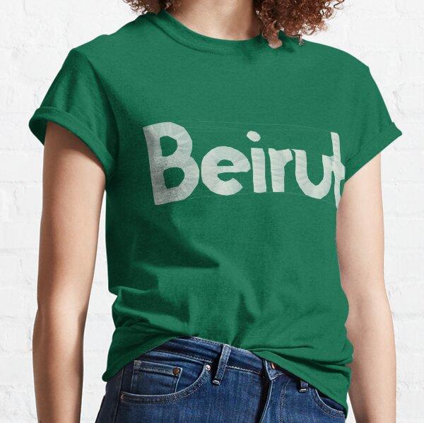 Beirut - Estados Unidos Camiseta clásica
