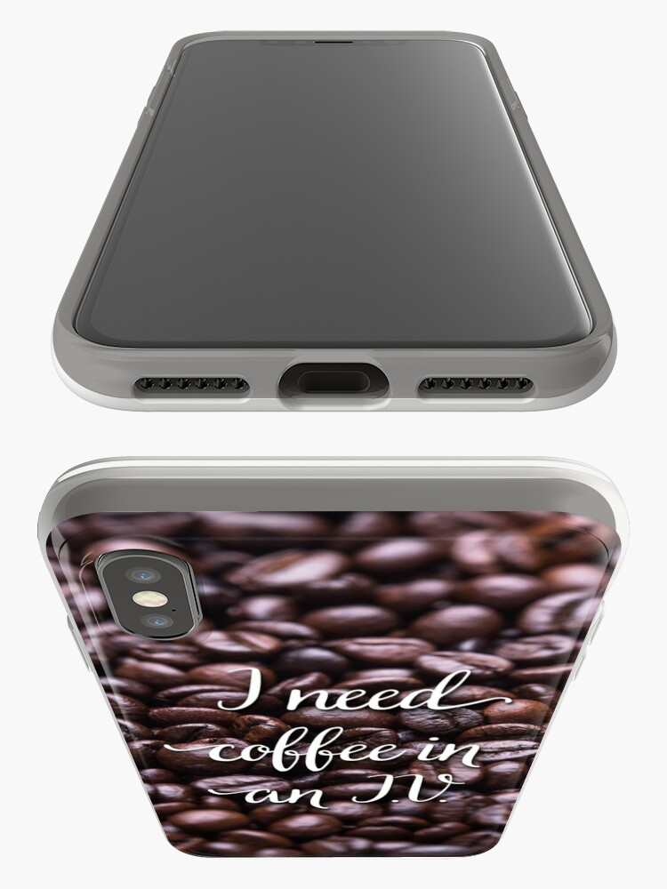 Alternate view of Coffee iPhone Case & Cover