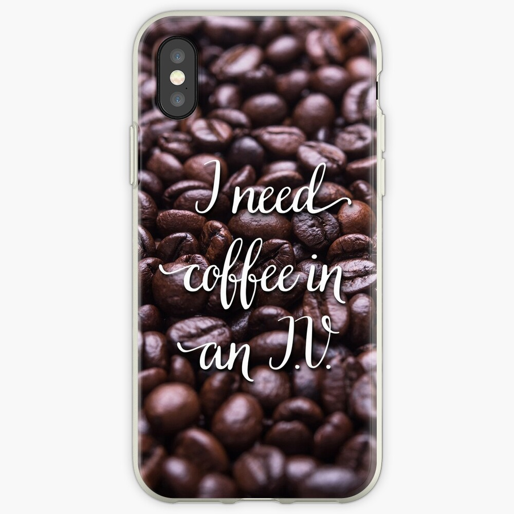 Coffee iPhone Case & Cover