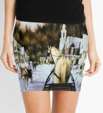 Winter In Summerville Mini Skirt