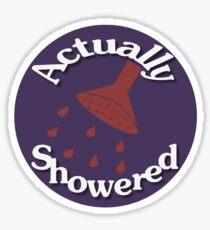 Parental Achievements:  Showering Sticker