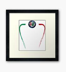 Alfa of Birmingham Tricolore Framed Print