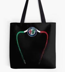 Alfa of Birmingham Tricolore Tote Bag