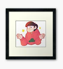 a huge dork!!! Framed Print