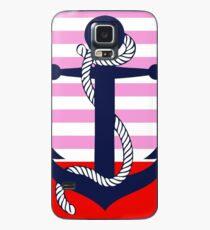 Ahoy! (pink dipped) Case/Skin for Samsung Galaxy