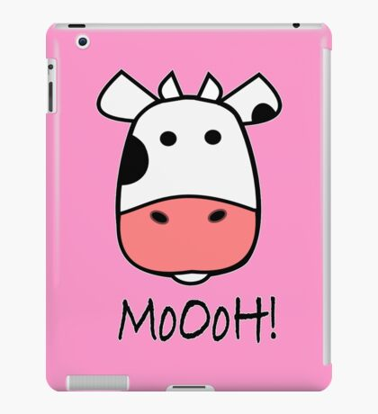 Cute Cow iPad Case/Skin