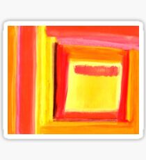 Pastel Painting 6 Sticker