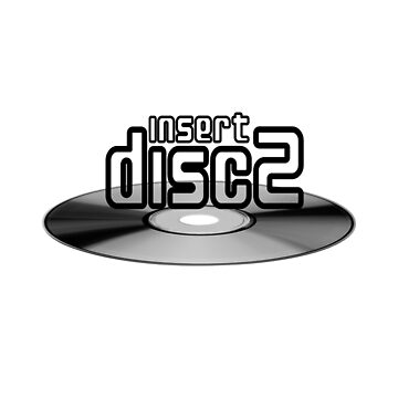 Insert Disc 2 (B/W) by mickcar73