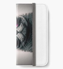 Cool Cat W/ Glasses iPhone Wallet