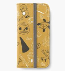 Over the Garden Wall Pattern iPhone Wallet/Case/Skin