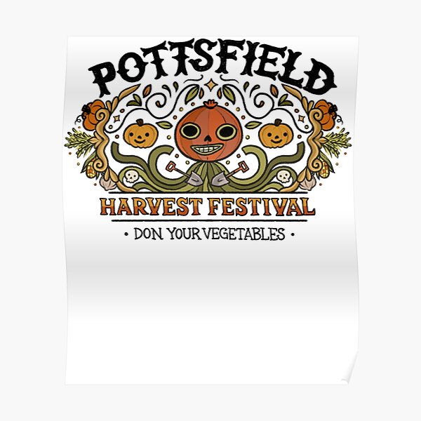 Pottsfield Harvest Festival Poster
