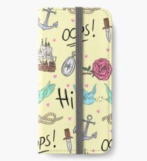 Larry Stylinson Complimentary Tattoo Pattern iPhone Wallet/Case/Skin