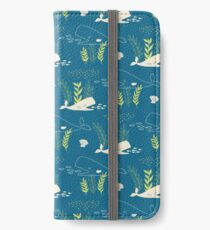 Very Hungry Whale iPhone Wallet/Case/Skin