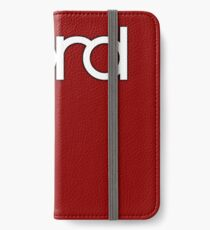 Wonderful Nord  Synth iPhone Wallet/Case/Skin