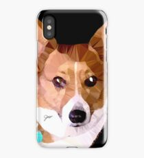 Low Poly Welsh Corgi iPhone Case
