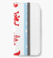 Chicago Flag with Skyline and Teams iPhone Wallet/Case/Skin