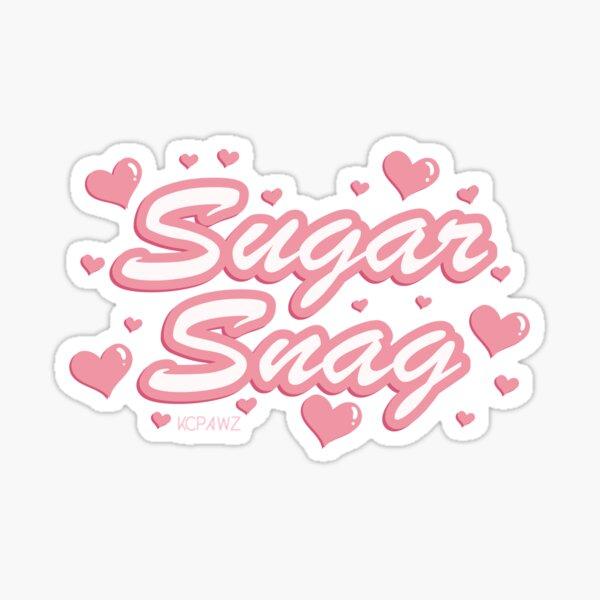 Sugar Snag - Pink Sticker