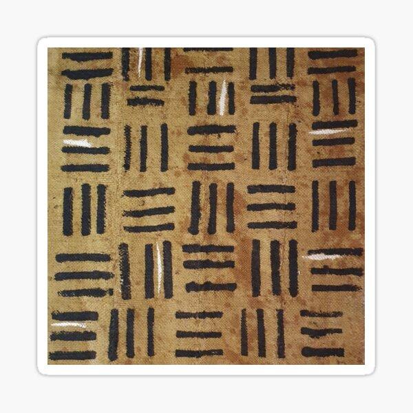 Cinnamon Brown Mudcloth 07 Sticker