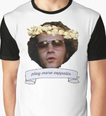 "Hyde says ""play more zeppelin"" Graphic T-Shirt"