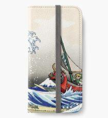 Legend of Zelda Great Wave Windwaker iPhone Wallet/Case/Skin