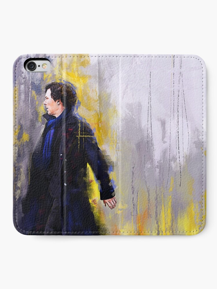 Alternative Ansicht von Gehender Sherlock iPhone Flip-Case