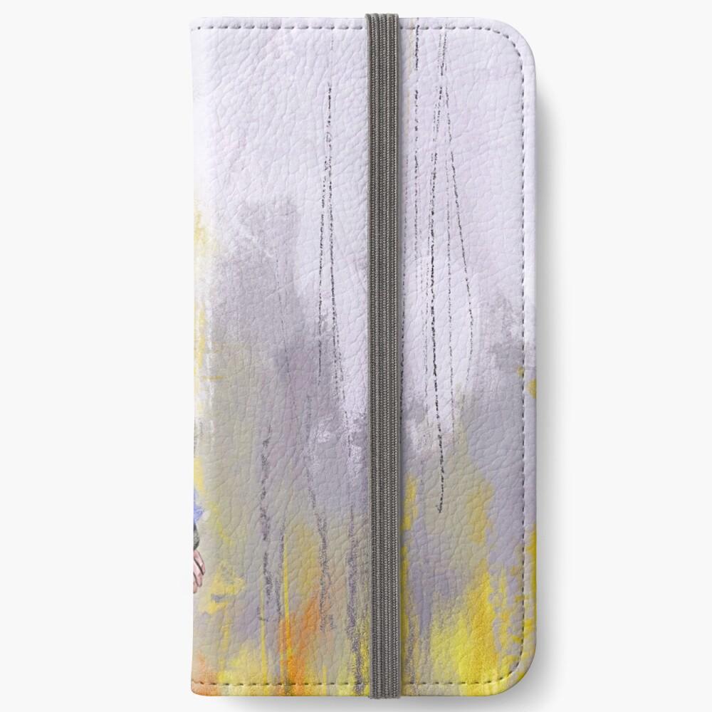 Gehender Sherlock iPhone Flip-Case