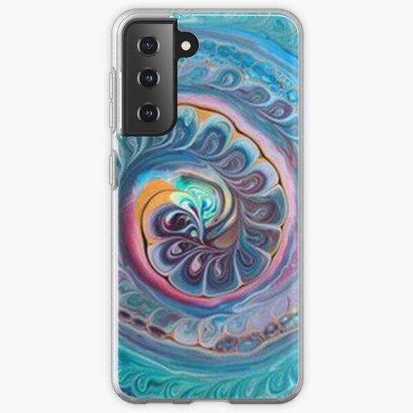 Blue Mandala Samsung Galaxy Soft Case