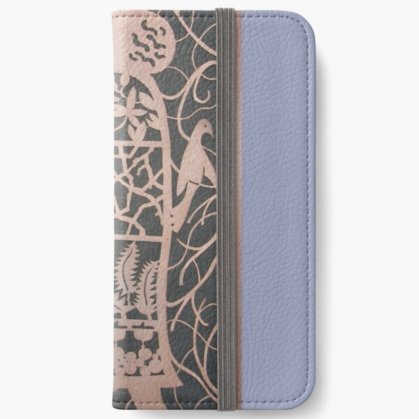 The Acorn Woman in Copper iPhone Wallet