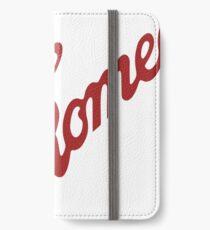 Alfa Romeo Script in RED iPhone Wallet/Case/Skin