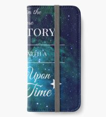 Once Upon a Time- The Lunar Chronicles- Marissa Meyer- Space iPhone Wallet/Case/Skin