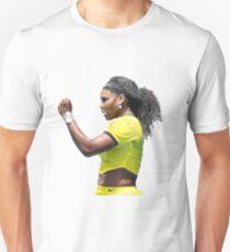 Digital Painting of Serena Williams Unisex T-Shirt